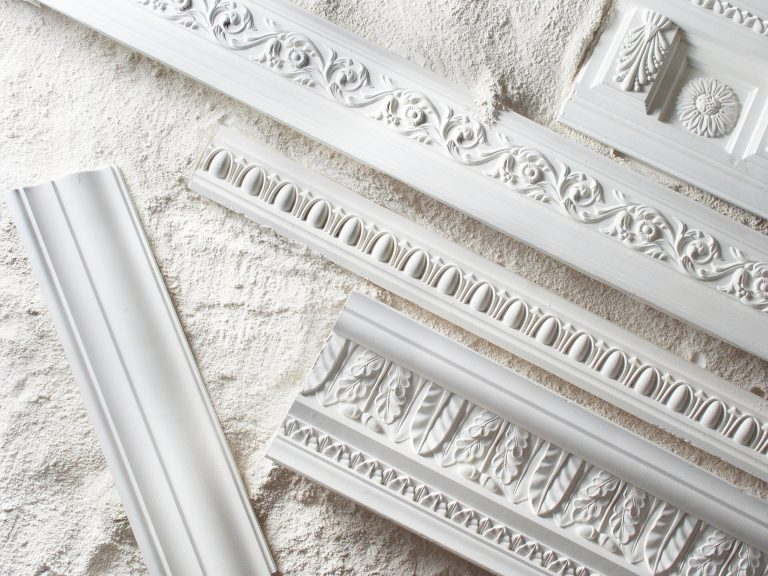 Samples,Of,A,Stucco,Moulding,From,Plaster