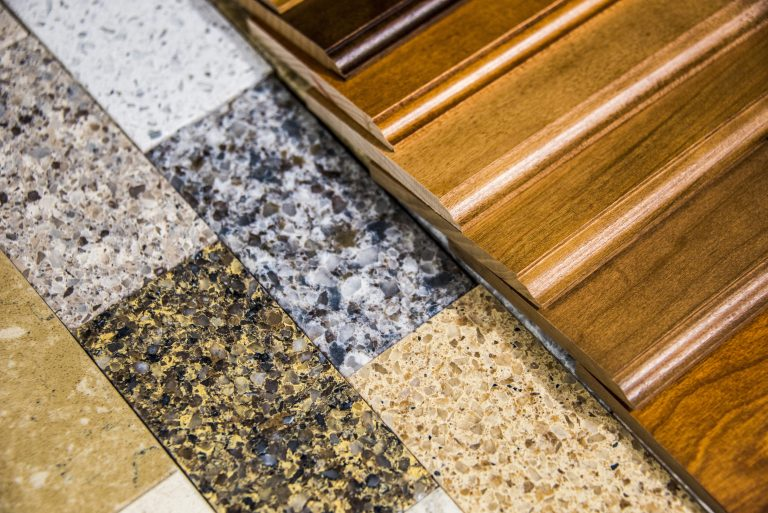 Hardwood,Floor,Color,Samples,And,Natural,Stone,Flooring,Tiles,Made